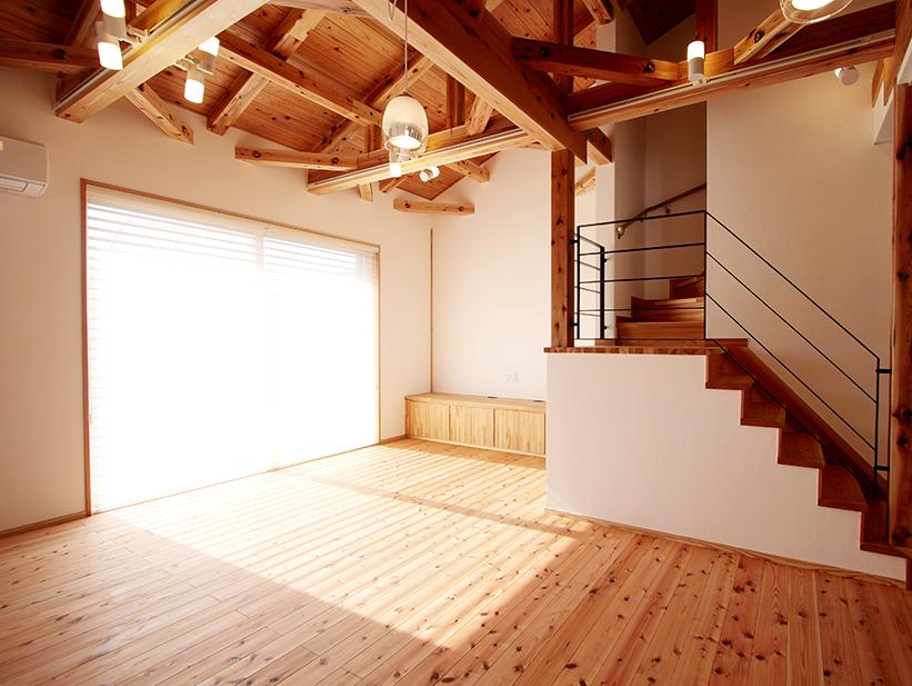木造であれば、国産の木材を使った住宅にしたい。