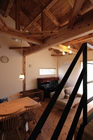 名古屋市 一社の家 リビング インテリア